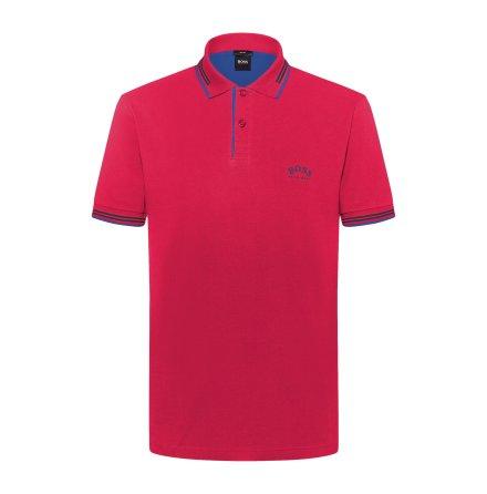 Hugo Boss Golf Paul Curved Medium Pink