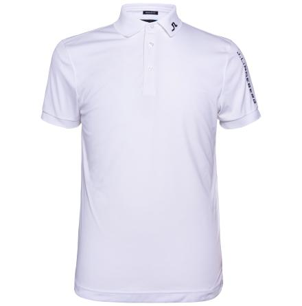 J Lindeberg Tour Tech TX Jersey White
