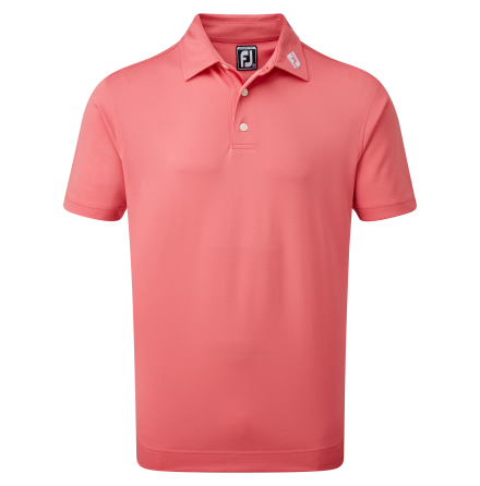 FootJoy Stretch Pique Solid Cape Red