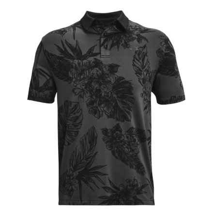 Under Armour Golf Playoff Polo 2.0 Black Floral