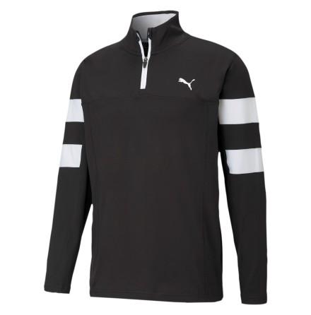 Puma Golf Torreyana 1/4 Zip Golftröja Svart