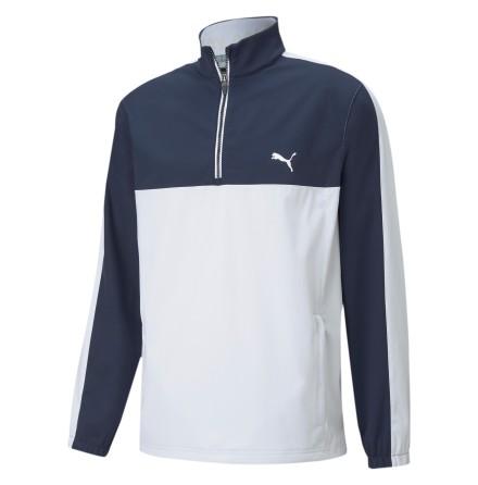 Puma Golf Riverwalk Wind Jacket Navy