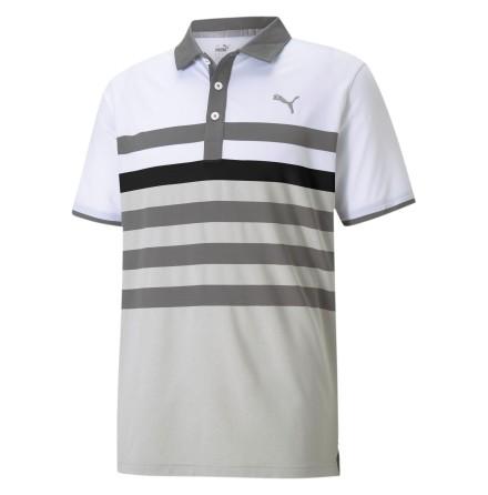 Puma Golf MATTR One Way Polo Quiet Shade