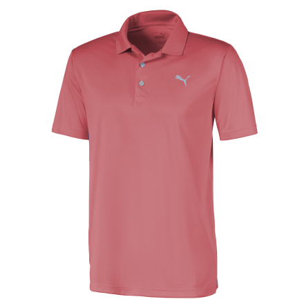 Puma Golf Rotation Polo Peach