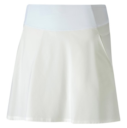 Puma Golf PWRSHAPE Solid Knit Skirt White