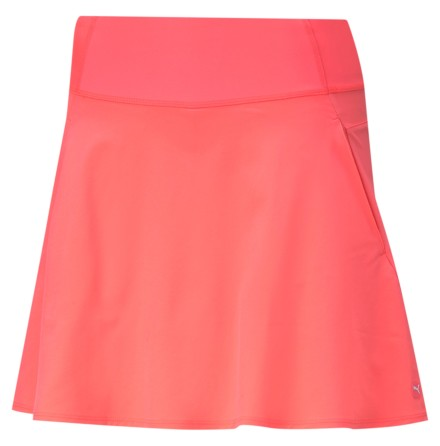 Puma Golf PWRSHAPE Solid Knit Skirt Ignite Pink
