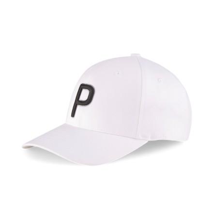 Puma Golf P Cap White Dam