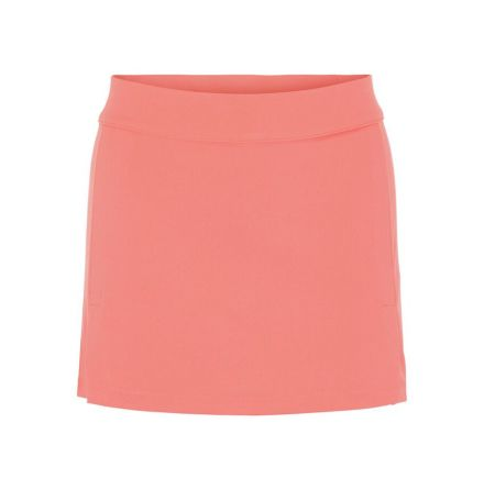 J Lindeberg W Amelie TX Jersey Skirt Tropical Coral