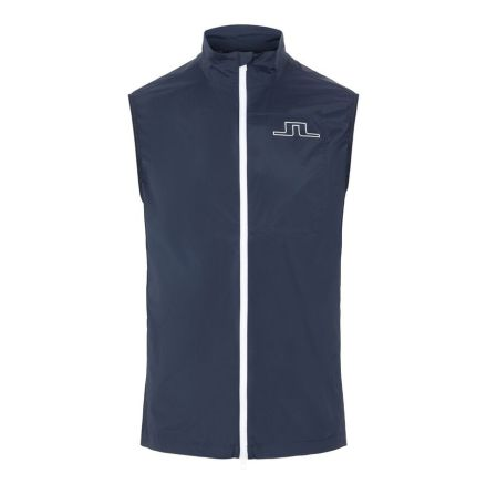J Lindeberg Golf Ash Light Golf Vest Navy