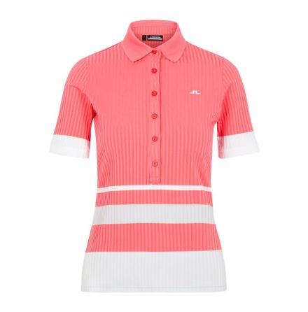 J Lindeberg Golf June Polo Tropical Coral