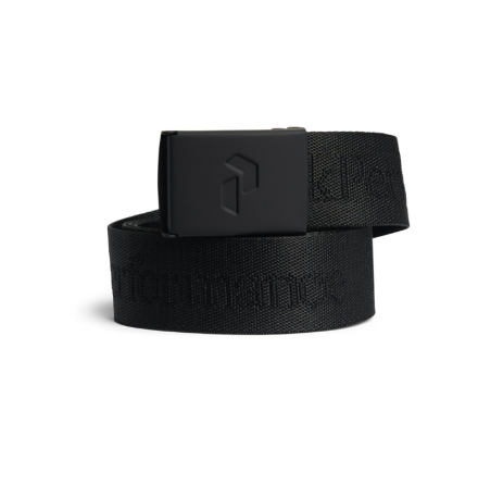 Peak Performance Golf Rider Belt Black