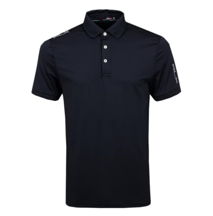 RLX Ralph Lauren Airflow Polo Black