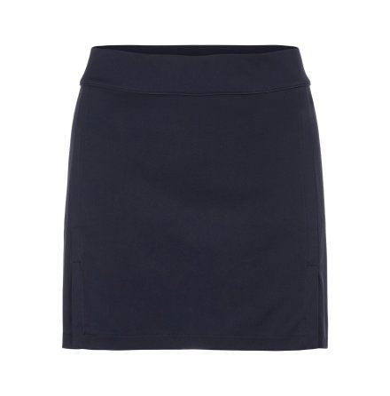 J Lindeberg W Amelie Mid TX Jersey Skirt 40 cm Navy