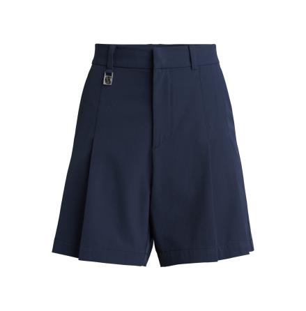 Röhnisch Golf Pleated Shorts Navy