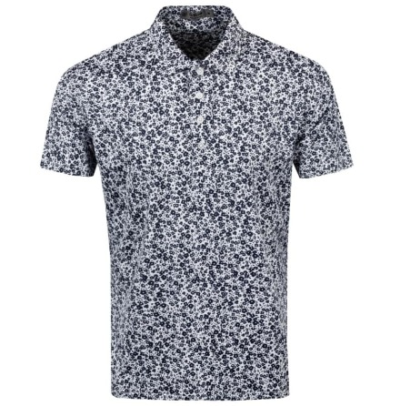 G/Fore Abstract Floral Polo