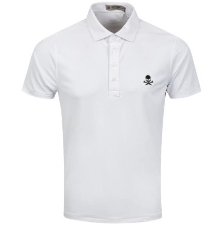G/Fore X Golf Fashion Online Polo Vit