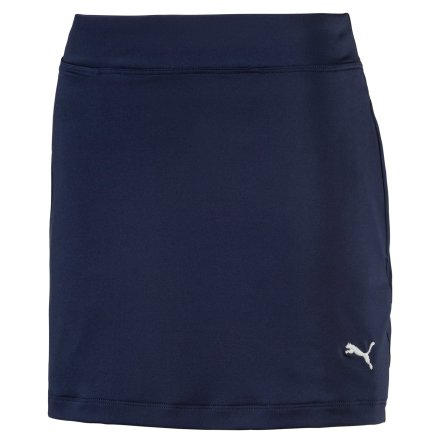 Puma Golf Girls Solid Knit Skirt Peacoat