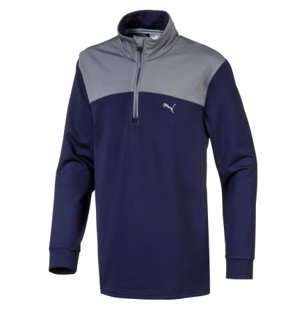 Puma Golf Colorblock 1/4 Zip Junior