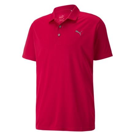 Puma Golf Rotation Polo Persian Red