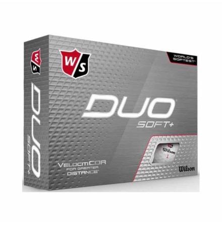 Golfbollar Wilson Staff Duo+ Soft