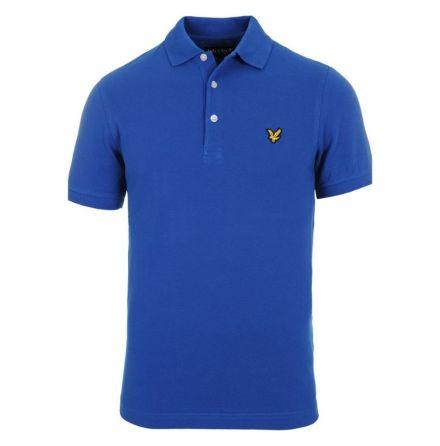 Lyle & Scott Golf Sport SS Polo True Blue