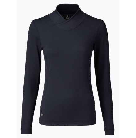 Daily Sports Agnes LS Mock Neck Navy