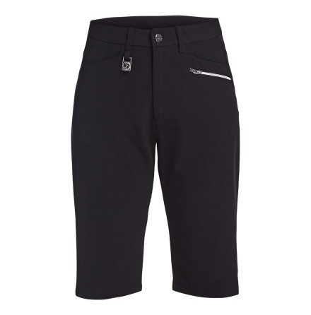 Röhnisch Golf Comfort Stretch Bermuda Black