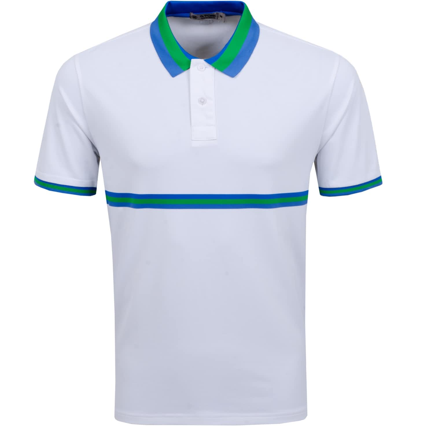 G/Fore Stripe Tipped Polo