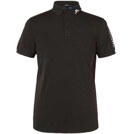 J Lindeberg Tour Tech TX Jersey Black