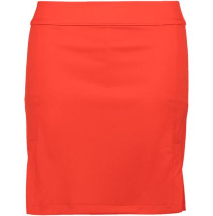 J Lindeberg W Amelie TX Jersey Skirt Racing Long Red