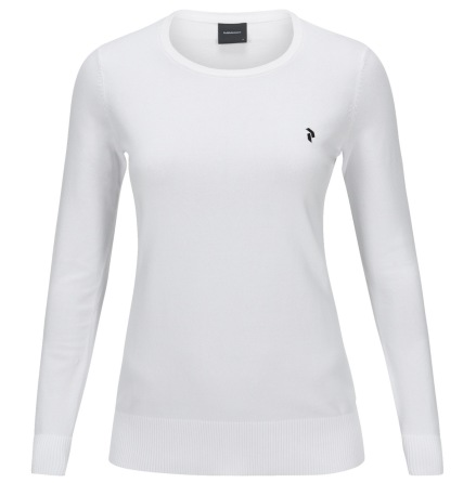 Peak Performance Golf W Classic Crew White