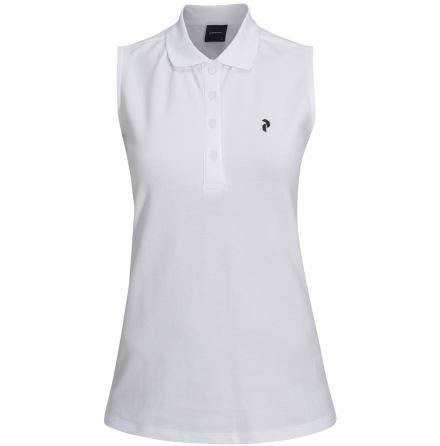 Peak Performance Golf W Sleeveless pique White