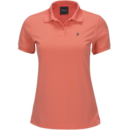 Peak Performance Golf W Elsham Polo Pink Flow