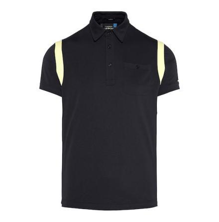J Lindeberg Golf Dolph Slim TX Jersey Black