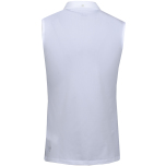 Puma Golf Pounce Sleeveless Polo White
