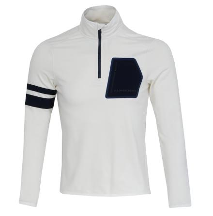 J Lindeberg Golf Putte Tech Mid Jacket White