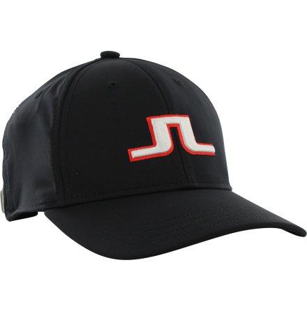 J Lindeberg Angus Golfcap Black