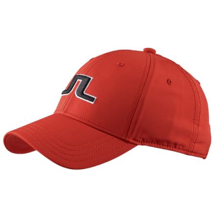 J Lindeberg Angus Golfcap Red