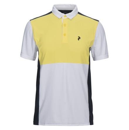 Peak Performance Golf Race Tour Polo True Yellow