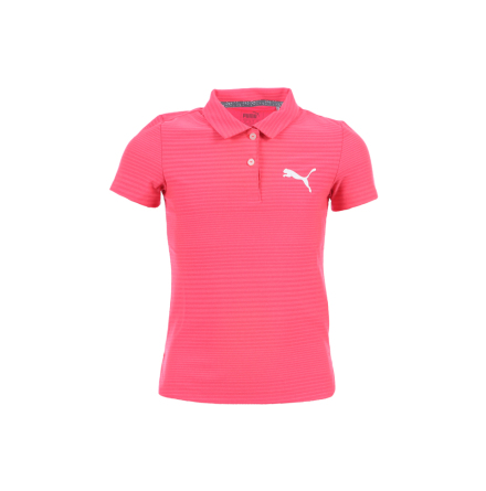 Puma Golf Girls Pounce Aston Polo Junior Bright Plasma
