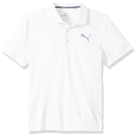 Puma Golf Pounce Aston Polo Junior White