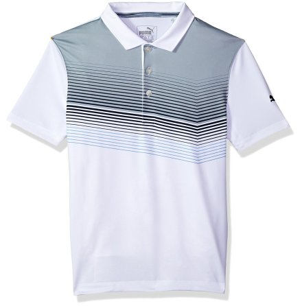 Puma Golf Road Map Polo Junior Peacoat