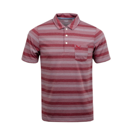 Puma Golf Local Pro Polo Pomegranat