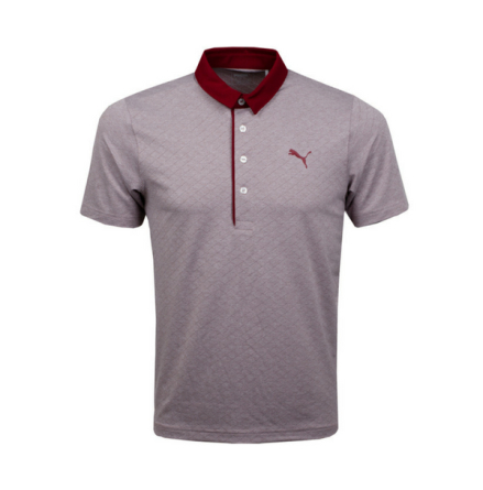 Puma Golf Diamond Jacquard Polo