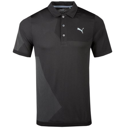 Puma Golf Evoknit Dassler Polo Black