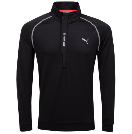 Puma Golf PWRWarm 1/4 Zip Black