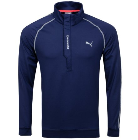 Puma Golf PWRWarm 1/4 Zip Navy