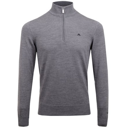 J Lindeberg Golf Kian Tour Merino Grey