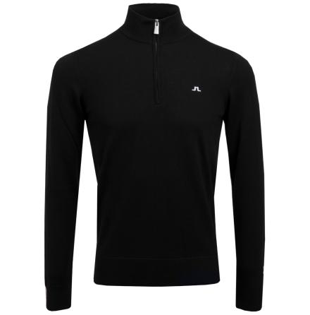 J Lindeberg Golf Kian Tour Merino Black