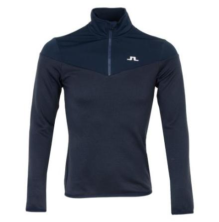 J Lindeberg Golf Hubbard 1/4 Zip Navy